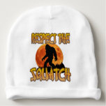 Respect The Squatch Baby Beanie