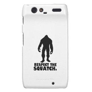 Respect the Squatch | Bigfoot Sasquatch Droid RAZR Cases