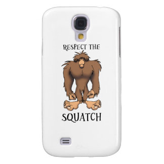 RESPECT THE SQUATCH GALAXY S4 CASE