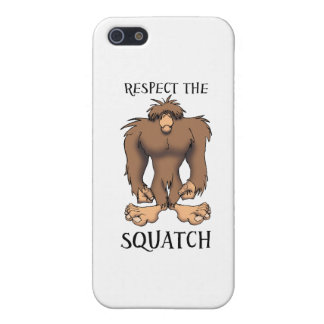 RESPECT THE SQUATCH iPhone 5 CASE