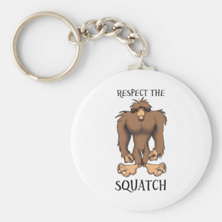 RESPECT THE SQUATCH KEYCHAIN