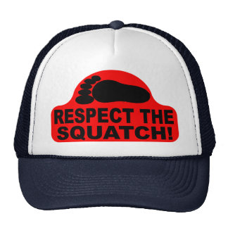 RESPECT THE SQUATCH Look like a PRO in Bobo s Trucker Hats