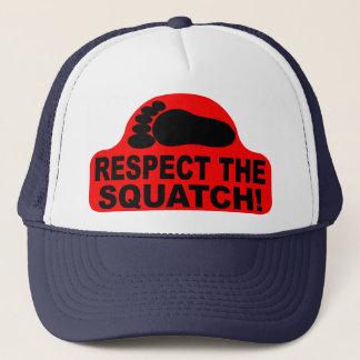 RESPECT THE SQUATCH!  Look like a PRO in Bobo's Trucker Hat