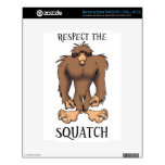 RESPECT THE SQUATCH NOOK DECALS