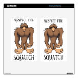 RESPECT THE SQUATCH SKIN FOR KINDLE FIRE