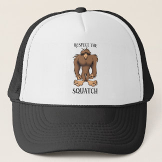 RESPECT THE SQUATCH TRUCKER HAT