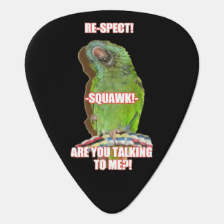 Respect the Squawk Guitar Pick