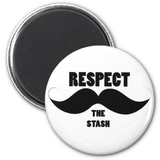 Respect the Stash Magnet