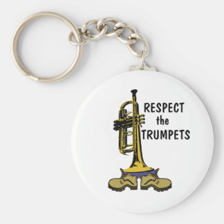 Respect the Trumpets Keychains