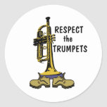 Respect the Trumpets Stickers