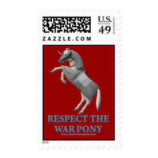 Respect the War Pony Stamps