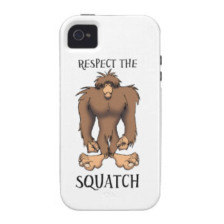 RESPECT THESQUATCH iPhone 4 COVERS