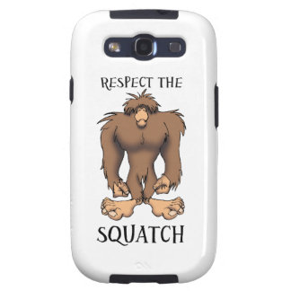 RESPECT THESQUATCH SAMSUNG GALAXY SIII COVER