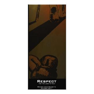 """Respect"" Value Bookmark Rack Card"