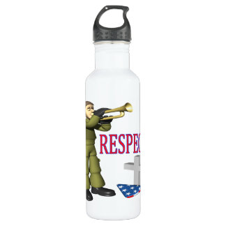 Respect Water Bottle
