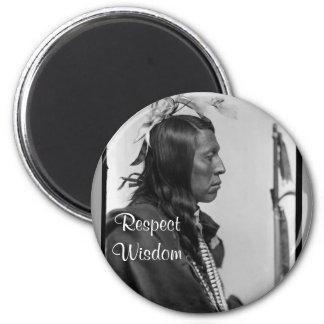 respect wisdom magnet