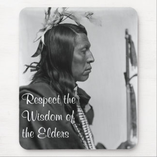 respect wisdom mousepad