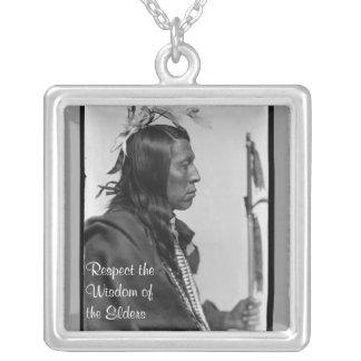 respect wisdom necklace