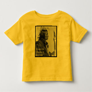 respect wisdom toddler shirt