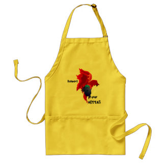Respect your Bettas Adult Apron