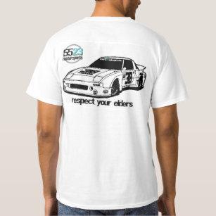 Respect your elders - Mazda RX7 T-Shirt