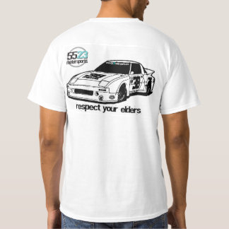 Respect your elders - Mazda RX7 T-Shirt