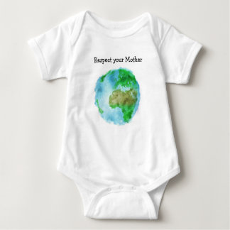 Respect Your Mother Baby Bodysuit