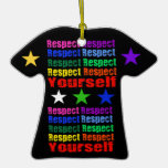 Respect Yourself Christmas Ornament