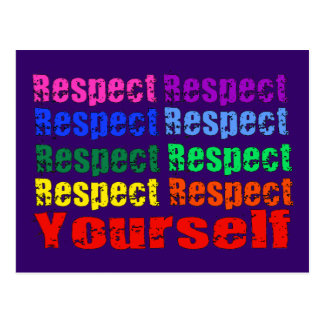 Respect Yourself Postcards