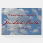 [ Thumbnail: Respectable and Personalized Memorial Guestbook ]
