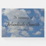 [ Thumbnail: Respectable & Plain Funeral/Memorial Guestbook ]