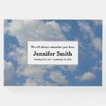 [ Thumbnail: Respectable & Simple Memorial Guestbook ]