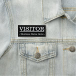 """[ Thumbnail: Respectable """"Visitor"""" Name Tag ]"""