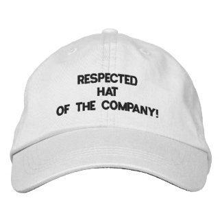 Respected Hat of The Company! :) Baseball Cap