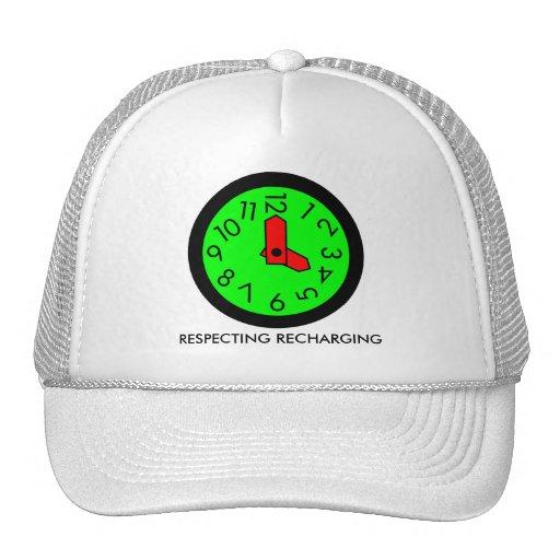 RESPECTING RECHARGING TRUCKER HAT