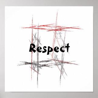 Respecto de los artes marciales póster
