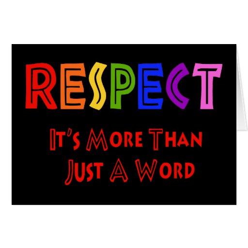 Respecto del arco iris felicitaciones