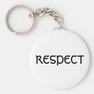 RESPECTO LLAVERO PERSONALIZADO