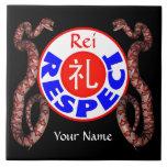 Respecto - serpiente de Rei Tejas Cerámicas