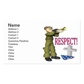 Respecto Tarjetas De Visita