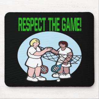 Respecto The Game Alfombrillas De Raton