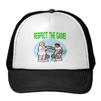 Respecto The Game Gorra