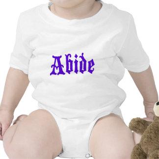 Respete (edición púrpura grande) traje de bebé