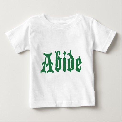 Respete (el edtion verde) playera de bebé