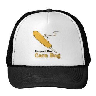¿Respete el perro de maíz? Gorras De Camionero