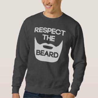 Respete la barba sudaderas encapuchadas