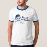 Respete la camiseta del bigote poleras