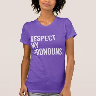 Respete mis pronombres remera