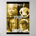 Respete sus ancianos (el poster grande)