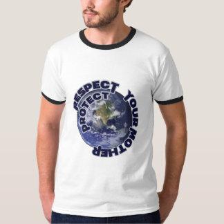 Respete y proteja su madre tierra camisas